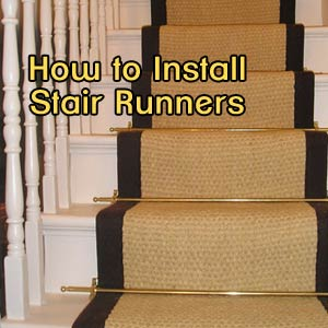 Superbe DIY Stair Runner Installation Tutorial