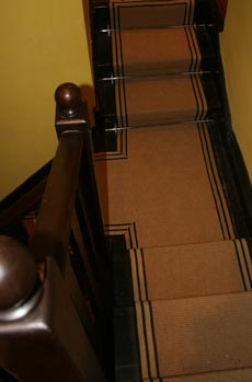 Jute Runners - Striped Border | StairRunners.