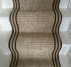 Wool And Hemp Stair Runner