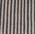 Jute Black Striped Carpet Runner